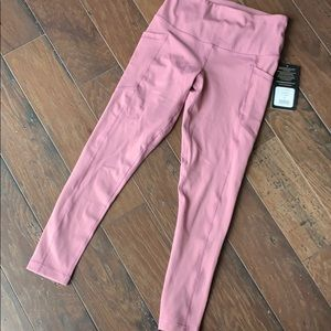 Dusty Rose Leggings with Pockets
